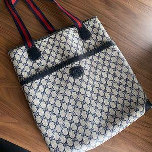 Vintage Gucci Classic Shopper Tote